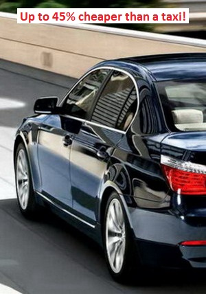 charleroi airport low cost taxi transfer